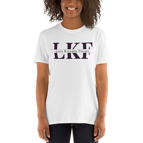 LKF White Short-Sleeve Unisex T-Shirt