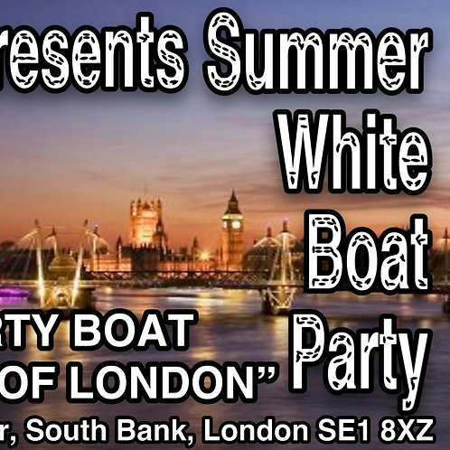 Couple Tickets for Summer White Boat Party