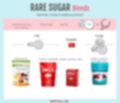 Rare Sugars | Tagatose, Xylose, Kabocha Extract