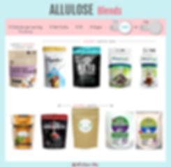 Allulose Blends