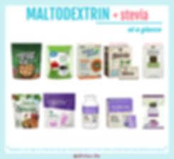 Stevia with Maltodextrin