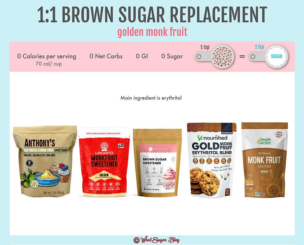 Zero Calorie Brown Sugar Substitute | Br