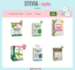 Stevia with Inulin Packets | SweetLeaf Organic Stevia Packets | SweetLeaf Stevia Packets | Purecane No Calorie Baking Sweetener Made from Sugarcane Packets | BetterStevia Organic Packets Better Stevia | BetterStevia Balance Packets Better Stevia | Swanson Organic Stevia Packets