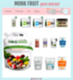 Pure Monk Fruit Extract