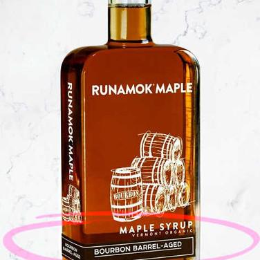 Organic Barrel-Aged Maple Syrup