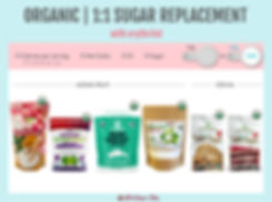 Organic Monk Fruit Sugar Replacement