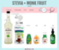 Stevia and Monk Fruit Liquid | Stevia wi