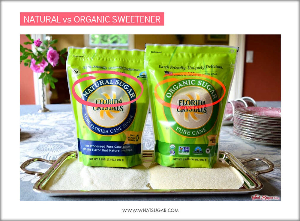 Natural versus Organic Sweetener | Is Organic Worth it | Are natural and organic the same