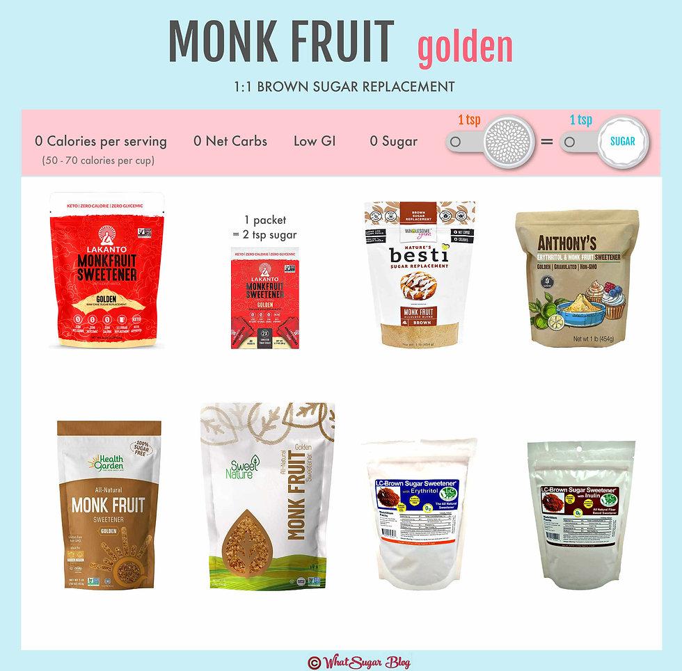 What is Golden Monk Fruit?
