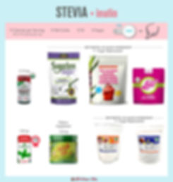 Stevia with Inulin