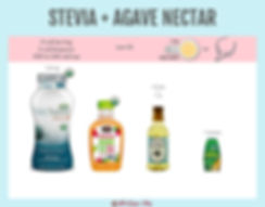 Stevia with Agave | Zero Calories