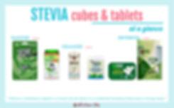 Stevia Cubes & Tablets