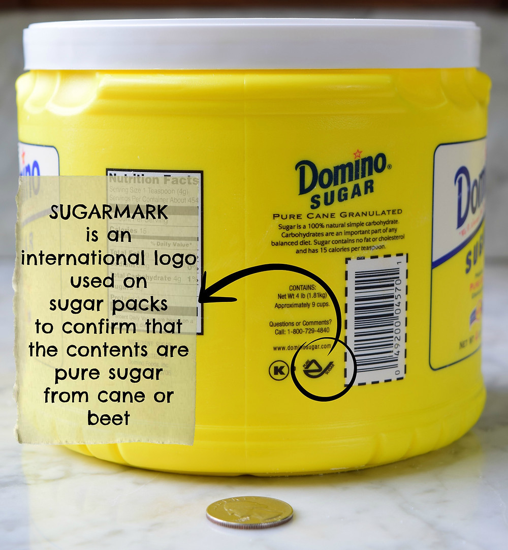"What is a sugarmark, also known as ""pure sugar mark""?"