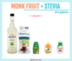 Monk Fruit with Stevia | Liquid
