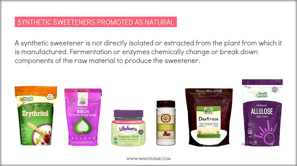 Synthetic Artificial Sweetener | Synthetic artificial difference