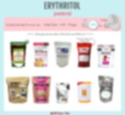 Powdered Erythritol | Powdered Sugar Sub