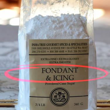 Fondant Sugar