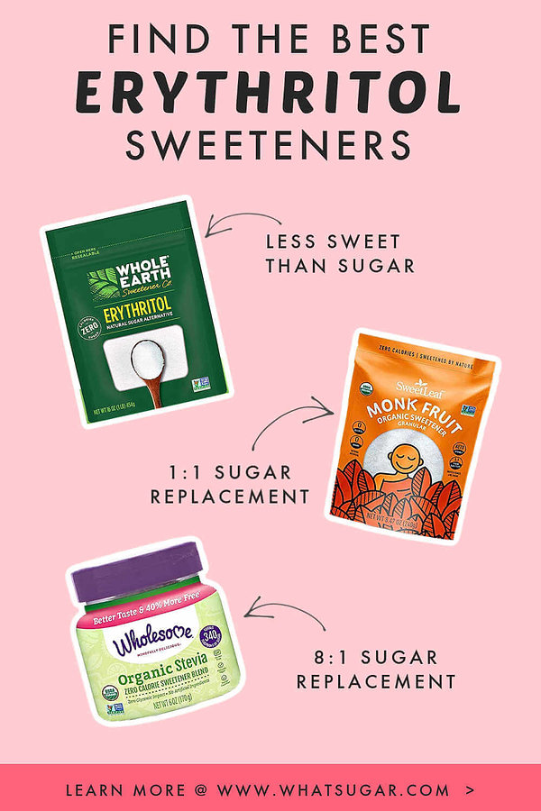 Choose the Best Erythritol Sweetener