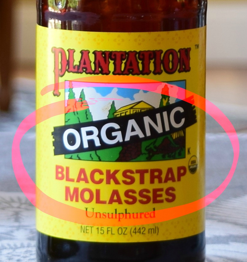 Organic molasses vs Blackstrap molasses | Organic Blackstrap Molasses is the dark syrup washed off from around the sugar (sucrose) crystals toward the production of organic sugars in a Sugar Mill. It is made from organic sugarcane and is processed according USDA's Organic Standards. It is sweeter and less bitter than regular blackstrap molasses. Contains around less than 50 percent sucrose, and about 20 percent invert sugar (glucose and fructose).