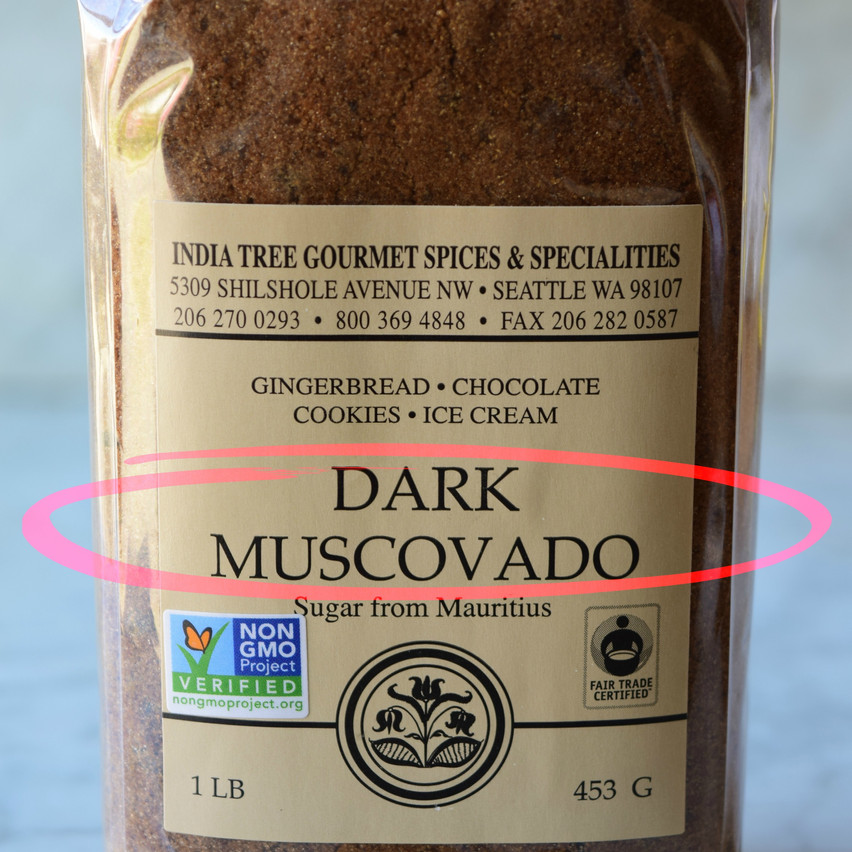 Muscovado is a traditional brown sugar produced directly from the cane juice in sugars mills in the Philippines, and the Mauritius Island. They are typically made close to cane fields, using hundreds of years old know-how. As cane juice is concentrated, a sticky dark syrup, called cane molasses, surrounds the pure sugar (sucrose) crystals. The color of the resulting brown sugars depends on the amount of the molasses they retain.