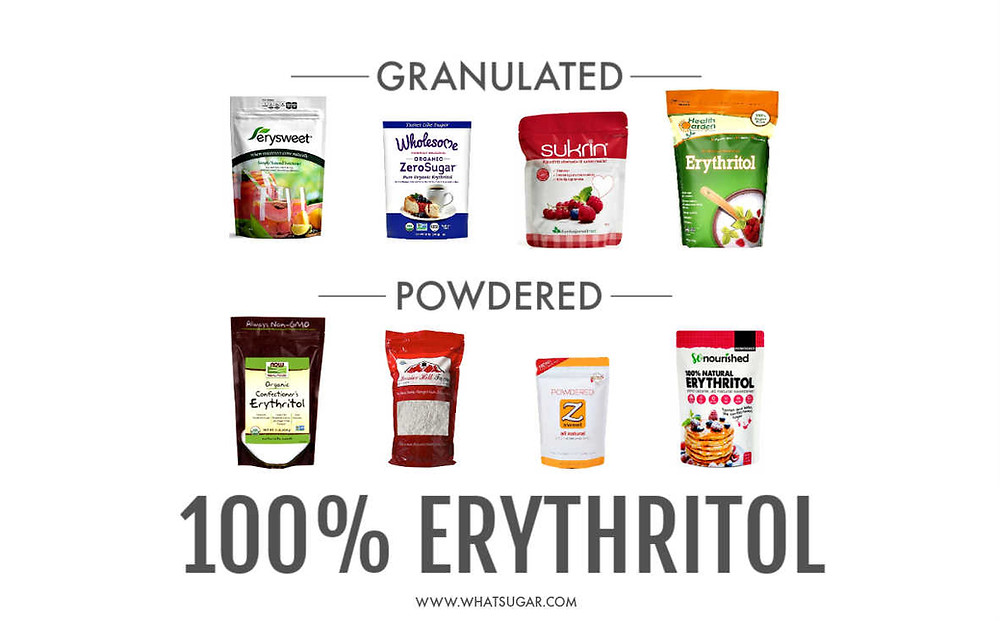 What is the best sweetener? | What does erythritol mean | What erythritol is made from | erythritol what does it taste like | what is erythritol sweetener made from