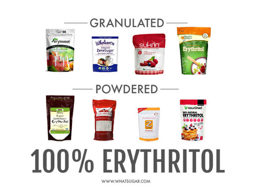 Erythritol: Powdered vs Granulated
