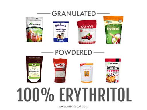 Erythritol: Powdered vs Granulated