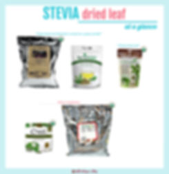 Dried Stevia Leaf