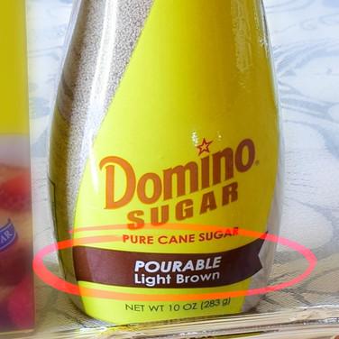 Pourable Brown Sugar