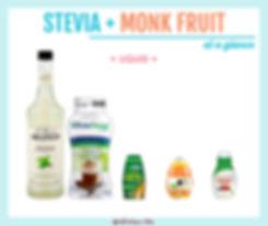 Stevia Monk Fruit Blend Liquid
