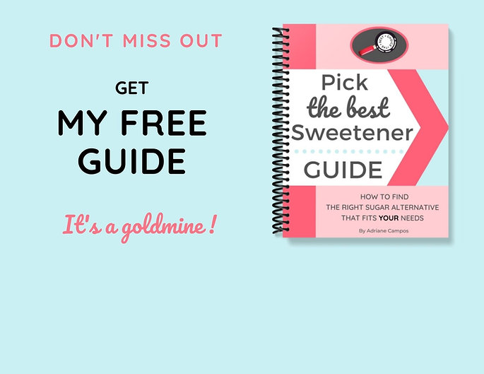 Pick the Best Sweetener Guide