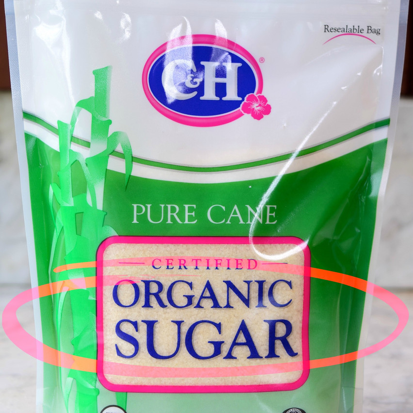 Raw sugar vs Organic Sugar | Organic sugar, the most widely available raw sugar in stores, is made from organic sugarcane and is processed according USDA's Organic Standards. It has medium size crystals, blond color and delicate molasses flavor. Conatins 99 percent sucrose.