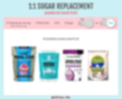 Low Carb Powdered Sugar