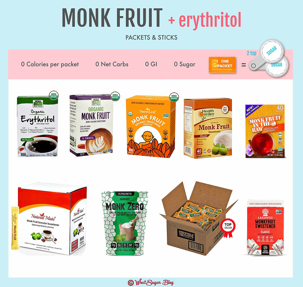 Does monk fruit come in packets?