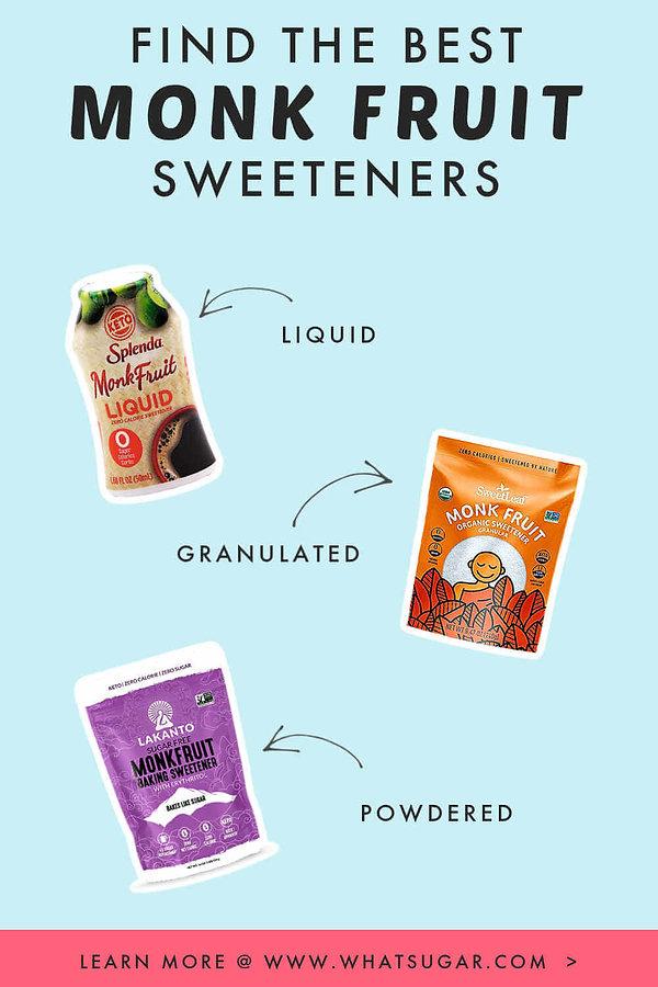 Choose the Best Monk Fruit Sweetener Her