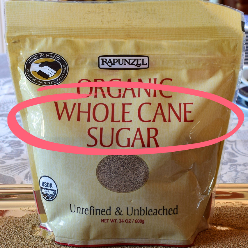 What is whole cane sugar | Whole cane sugar is not a traditional brown sugar, but it is an unrefined cane sugar produced by a more sophisticated refining process. The cane stalks are crushed to extract the juice, which is then clarified and heated in large vats. The drying process used in these so-called unrefined sugars, result in crystals that do not clump, cake or harden as regular and traditional brown sugars do.