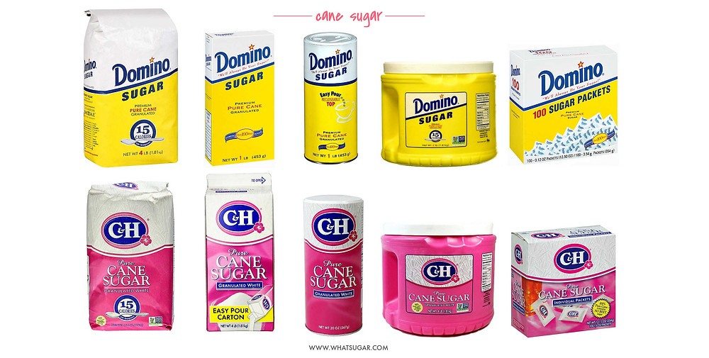 Top Brands of Sugar Domino and C&H