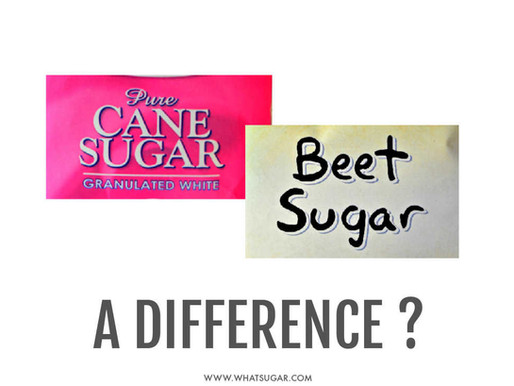 Cane vs. Beet Sugar: A Difference?