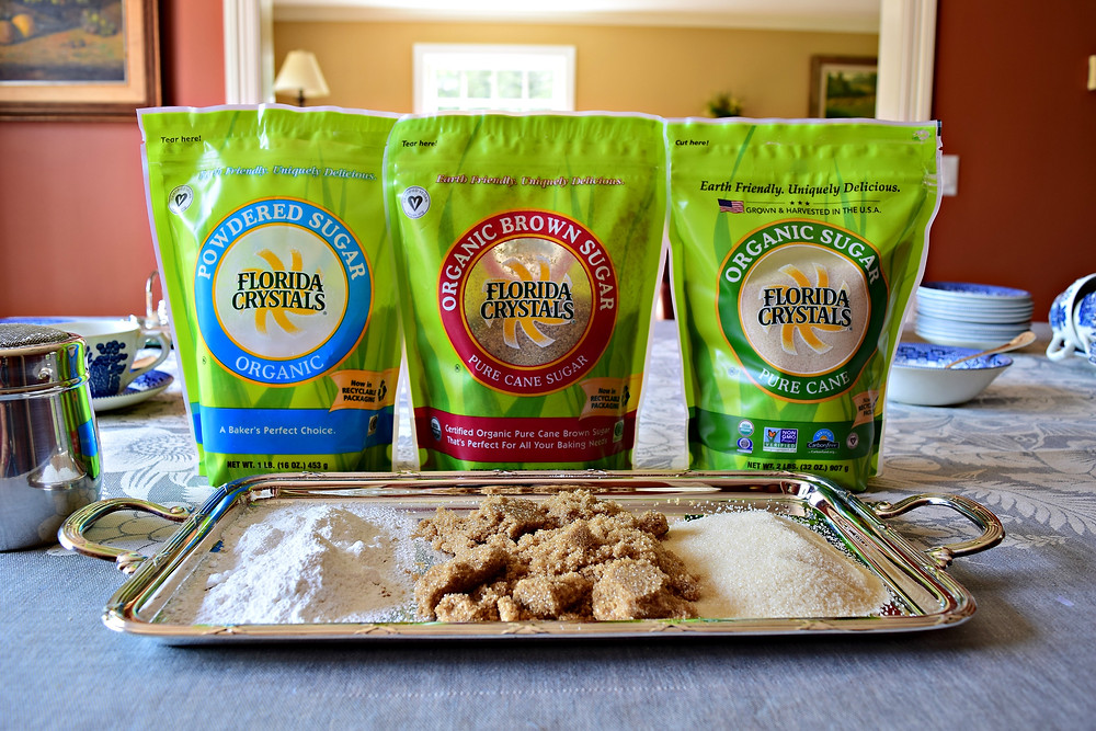 Florida Crystals is the only brand of organic sugar made in America
