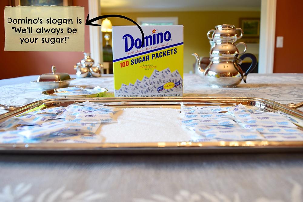 What is Domino Sugar Slogan?