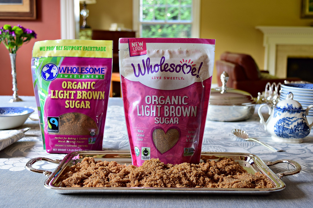 How is organic brown sugar made?