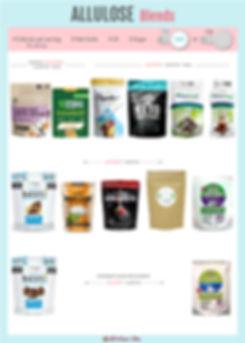 Allulose Blends | Allulose with Monk Fruit | Allulose with Stevia | tagatose vs allulose | allulose fodmap | crystalline allulose