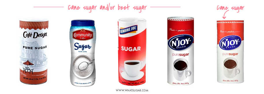 Refined Sugar Brand Names