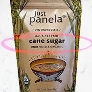 Organic Unrefined Cane Sugar