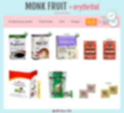 Monk Fruit Individual Packets