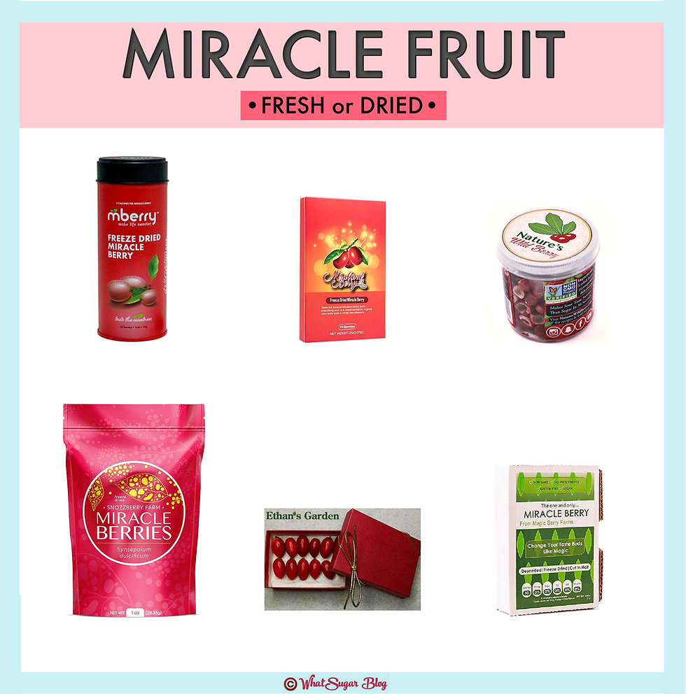 Where do you get miracle berries?