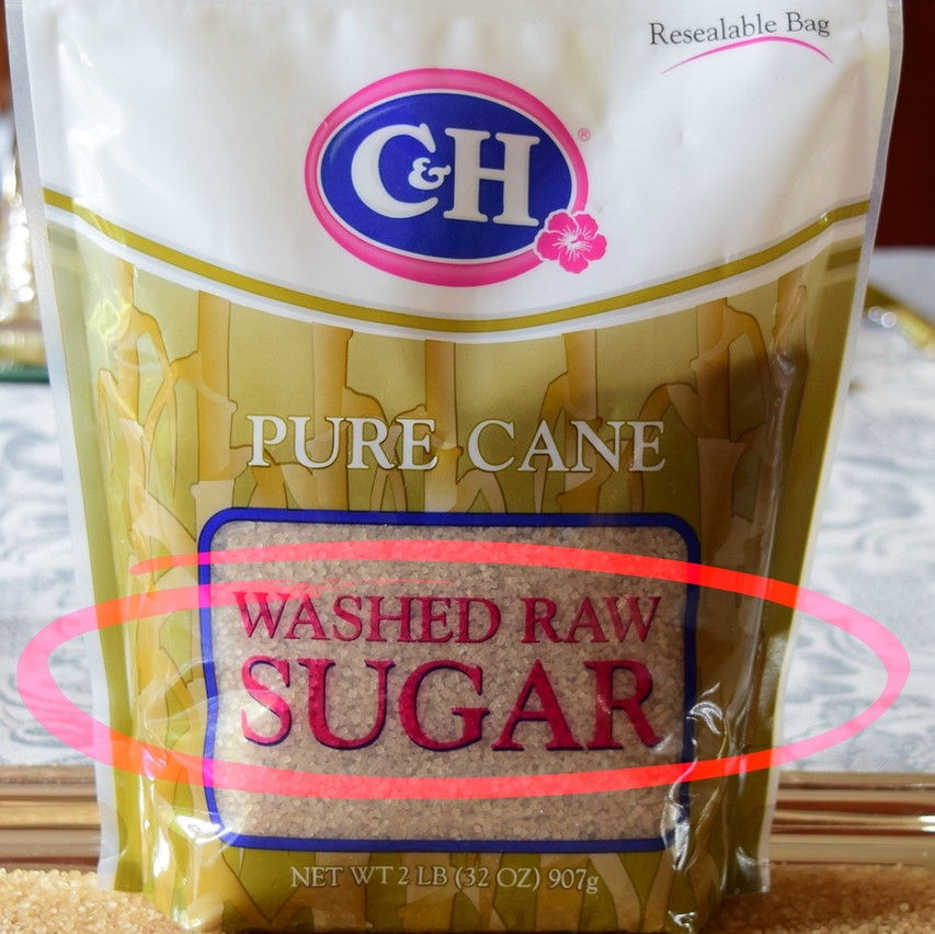Raw sugar vs Washed sugar | Washed Sugar is a raw cane sugar produced directly from the cane juice. In a centrifuge, raw sugar is WASHED with hot water to remove the molasses from around the sugar (sucrose) crystals. Not all the molasses are washed-off. Washed sugars generally contain less than 2 percent molasses. Crystal size varies from medium size to coarse. Most contain 97 percent sucrose.