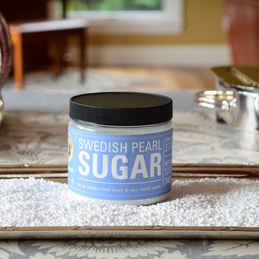 Swedish pearl sugar is imported and made from beets