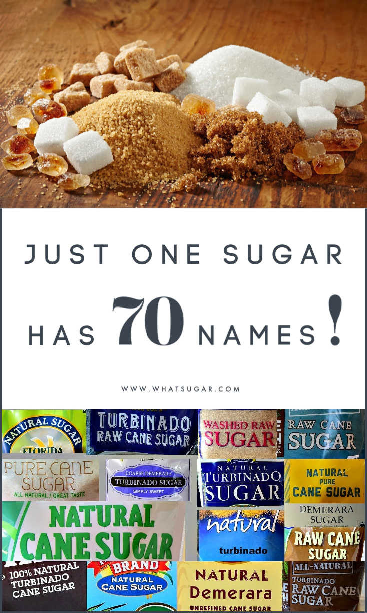 Sucrose other names | Sucrose brand names | Refined sugar other names | Raw sugar other names | Unrefined sugar other names