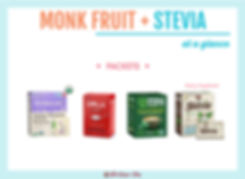 Monk Fruit with Stevia Packets